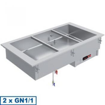 IN/BX08-P (20) Element Bain-Marie 2 GN 1/1